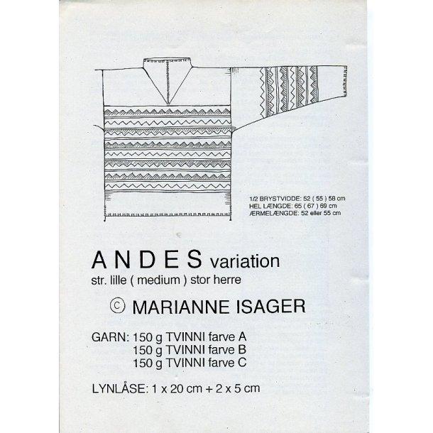 ANDES (herre) variation - Marianne Isager