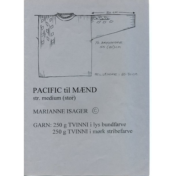 Pacific (herre) - Marianne Isager