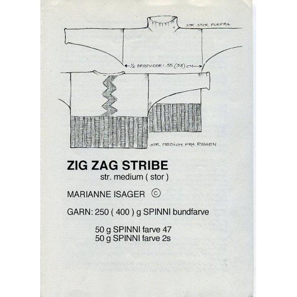 Zig Zag Stribe - Marianne Isager