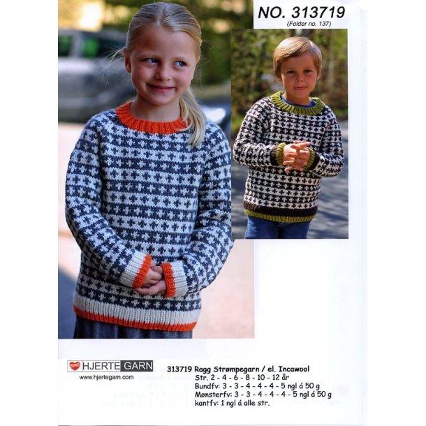 Ragg - 313719 - incl. gratis opskrift