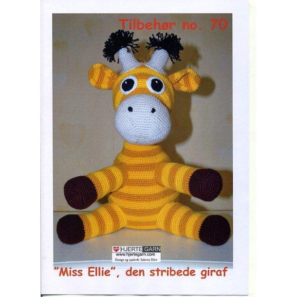 Miss Ellie - den stribede giraf