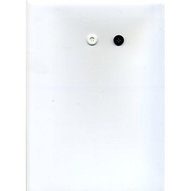 Superbillige knapper - 2 farver