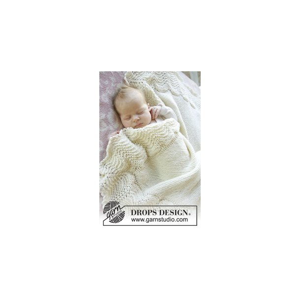 Baby Merino: Babytæppe, BABYDROPS nr. 25-2