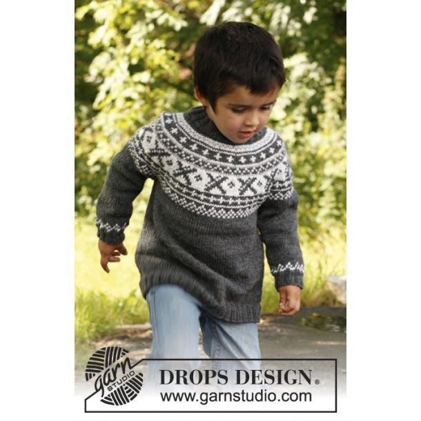 KARISMA: DROPS nr. 22-15 (børn) - strikkekit