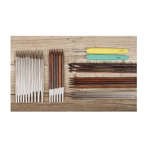 Strikkepinde- og hæklenålesæt